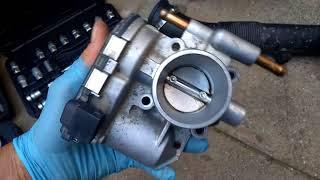 Remplacement boîtier papillon Opel Corsa C 1.0  3 cylindres