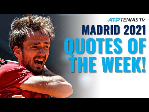 Medvedev Hates Clay & Nadal Spoils the Birthday Party! Best ATP Tennis Quotes From Madrid 2021 🗣