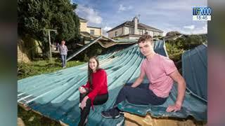 L'uragano Ophelia si dirige in Gran Bretagna dopo aver provocato tre vittime in Irlanda