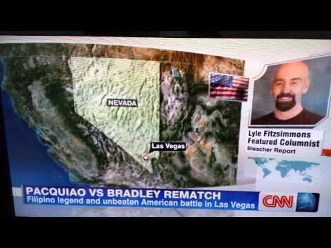Paquiao on CNN World Sports News