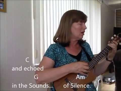 The Sound Of Silence By Paul Simon Cover Ukulele Youtube