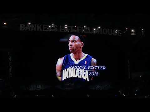 Pacers hold moment of silence to remember Rasual Butler