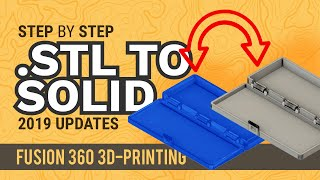 Modify an STL file — Fusion 360 Tutorial