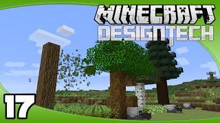 DesignTech - Ep. 17: Automated Tree Farm | Minecraft Custom Modpack Let's Play