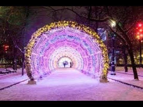 Moskau zur Weihnachtszeit 2017/2018