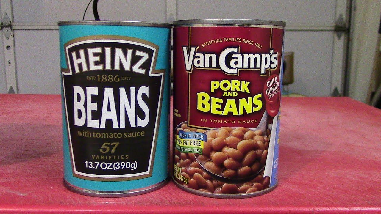 english junk vs american junk - beans. - youtube