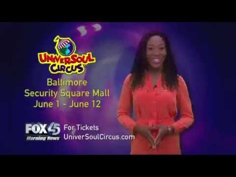 Chardelle Moore Guest Ring Master at Universoul Circus
