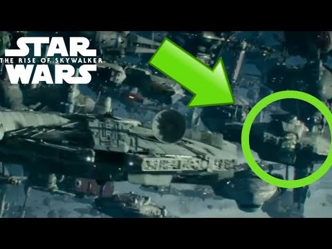 THE GHOST From REBELS Spotted In New Footage For Star Wars: The Rise of Skywalker!