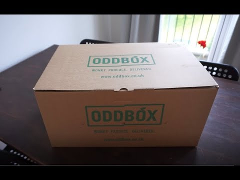 Cheap vegetables delivery in London: Oddbox unboxing and review