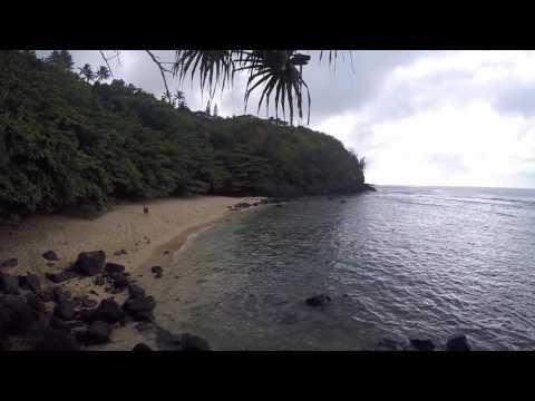 Hike to Secluded Beach on Kauai, Hawaii!