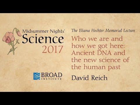 Midsummer Nights' Science: The Eliana Hechter Memorial Lecture (2017)