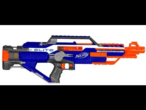 Review The Nerf Elite Stampede Ecs 18 Doovi
