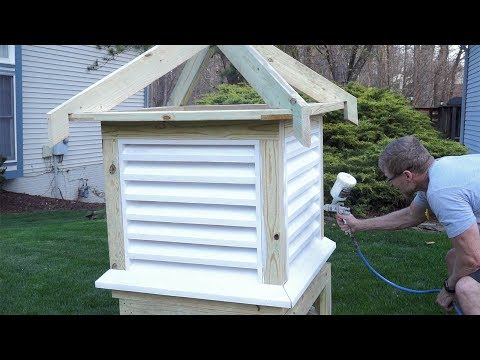 How to Make and Install a Cupola - Part 1