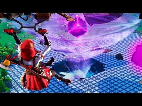 CREAMOS EL LAGO ROSA !! (+2000 TRAMPAS) CREACIONES LOCAS EN FORTNITE - ElChurches