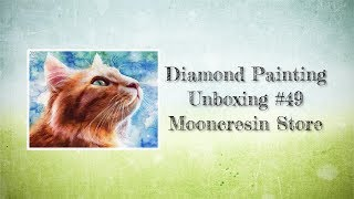Diamond Painting Unboxing #49 - Mooncresin Store