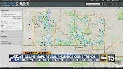 Online map reveals Phoenix's crime trends