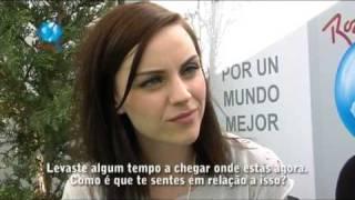 ROCK IN RIO LISBOA 2010 29 Maio - Entrevista Amy Macdonald