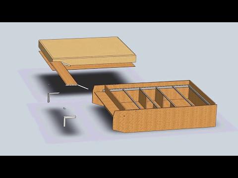 шкаф кровать трансформер своими руками чертежи