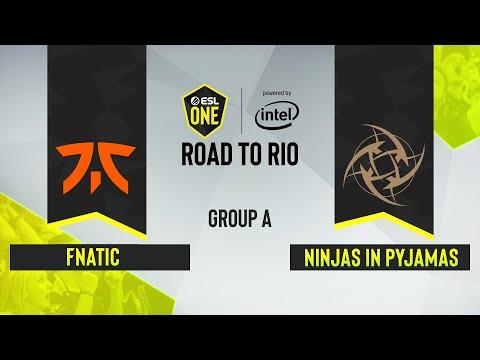 CS:GO - Ninjas In Pyjamas Vs. Fnatic [Inferno] Map 3 - ESL One: Road To Rio - Group A - EU