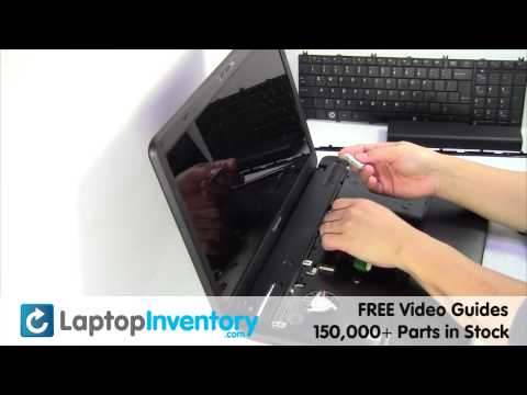 Toshiba Satellite C655 Wifi Replacement Wireless Card Installation Replace Fix Install Laptop