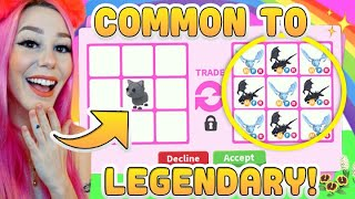 Craziest Adopt Me Trądes That ACTUALLY HAPPENED! Common to Legendary Trade Challenge Roblox Adopt Me