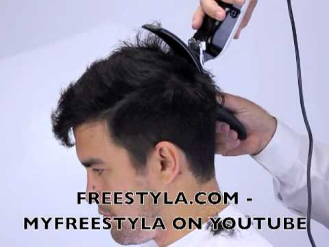 How To Cut Your Boyfriend S Hair Latest Style With Clippers And Freestyla