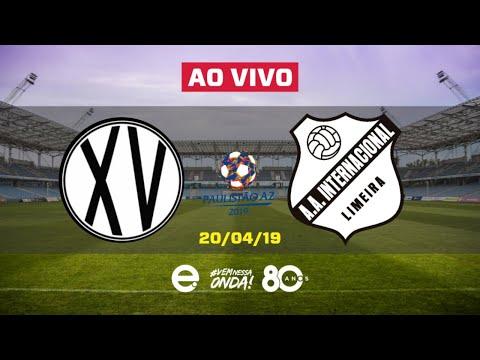 XV de Piracicaba X Inter de Limeira AO VIVO   Paulista A2   20-04-2019