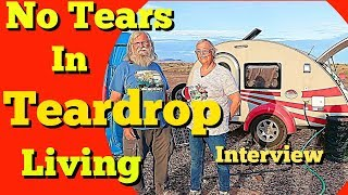 Teardrop Interview: Finding Joy and Freedom  from Tiny Living  in a T@G Teardrop Trailer (2019)