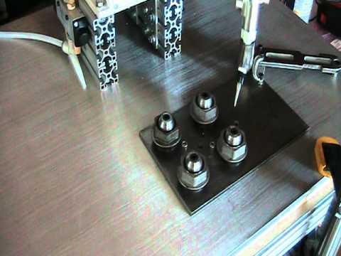 IAI SCARA Robot Dry Dispense Run By GoWare Automation