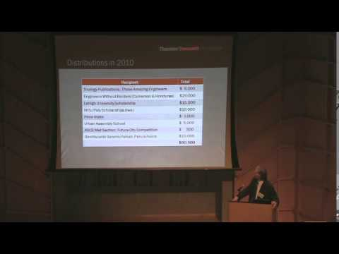 2011 Annual Meeting - Thornton Tomasetti Foundation
