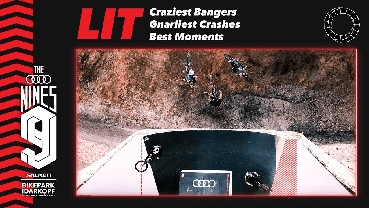 LIT: Craziest Bangers, Gnarliest Crashes and Best Moments - Audi Nines'20