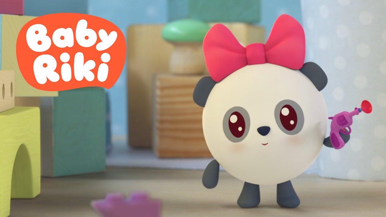 BabyRiki - Patul făcut (Ep.68) Desene animate dublate în română pentru copii