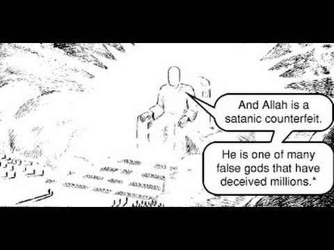 Jesus throws Muslim Man into Hell for Rejecting His Blood & Saving Grace - Day of Judgement