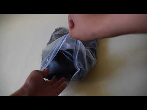 Unboxing latex catsuit (How latex is delivered)