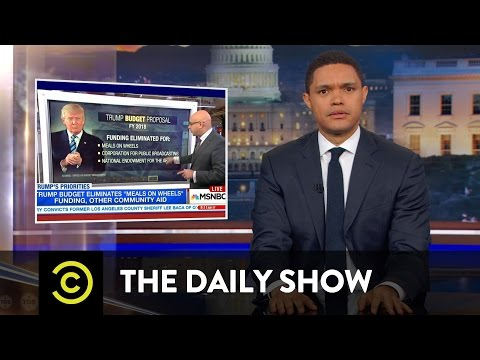 Trump's Budget by the Numbers & MEAL Team Six - How to Save Meals on Wheels: The Daily Show