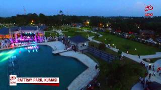 Aerial Footage Aerial Footage of the new Rattray Park, Kumasi