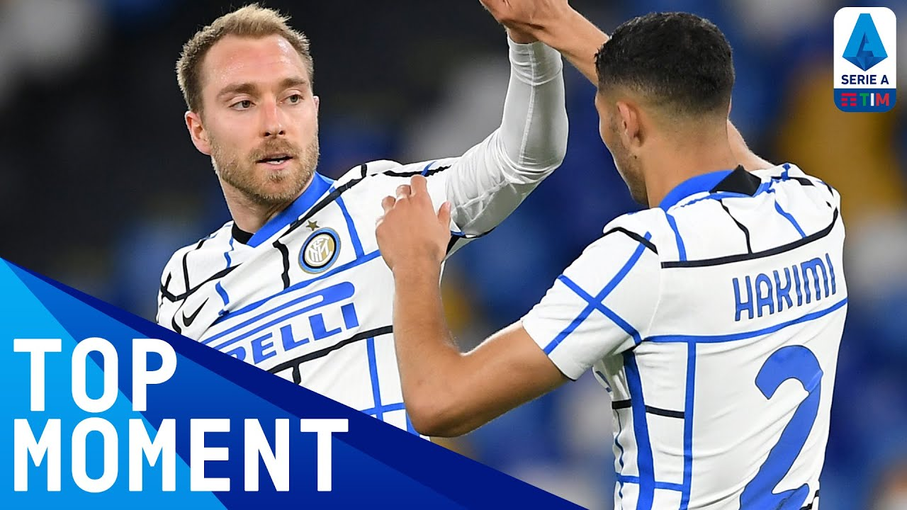 Eriksen scores his first goal of the season for Inter!   Napoli 1-1 Inter   Top Moment   Serie A TIM
