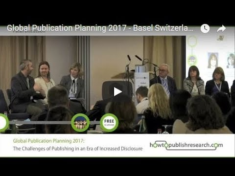 Global Publication Planning 2017 - Basel Switzerland
