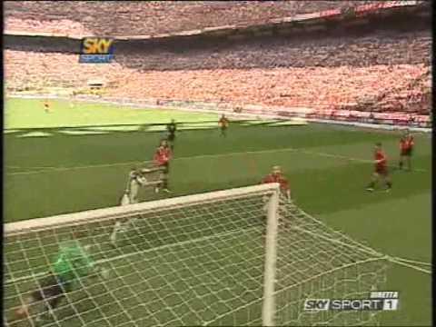 Milan-Juventus 0-1 Serie A 2004-2005 Primo Tempo Sky