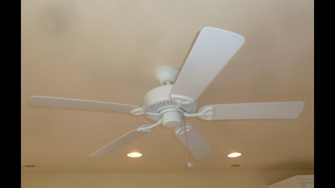 Hampton Bay Farmington ceiling fan - YouTube