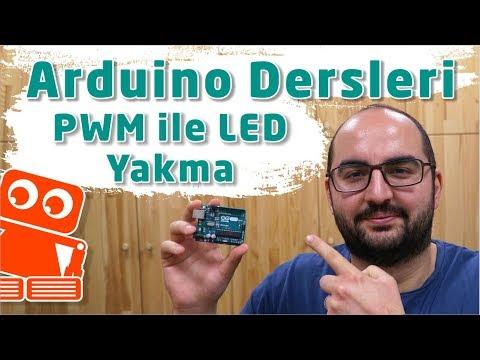 Arduino PWM Kullanarak, Potansiyometre İle LED Yakma #5