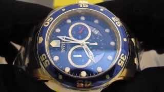 Обзор мужских наручных часов Invicta Pro Diver Chronograph 6983(, 2014-06-26T10:13:29.000Z)
