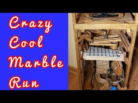Amazing Wood Marble Run #1