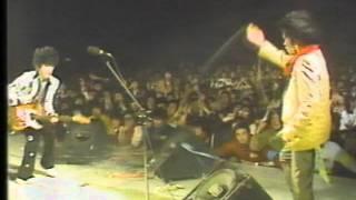 1980年年末、大阪毎日ホールにて「冬の陣ロックコンサート」より 一...