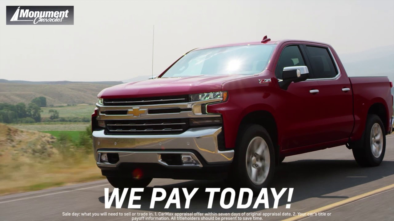 Monument Chevrolet We Ll Buy Your Car Youtube