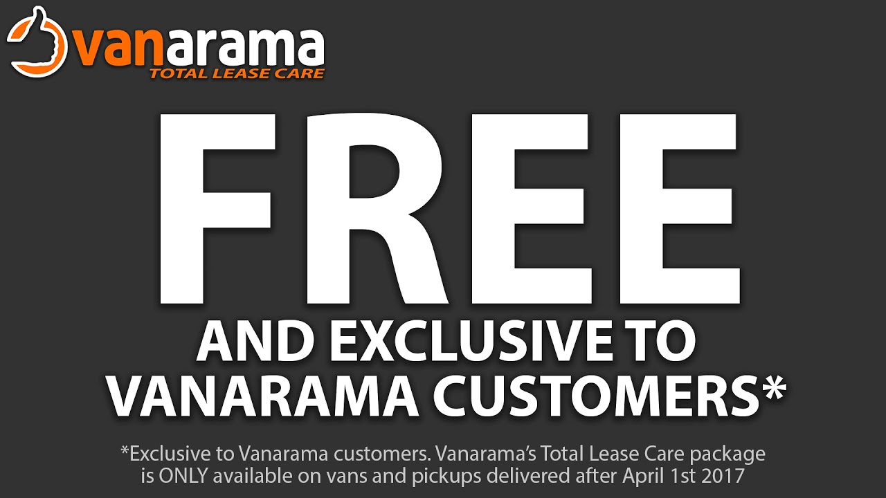 Vanarama Total Lease Care