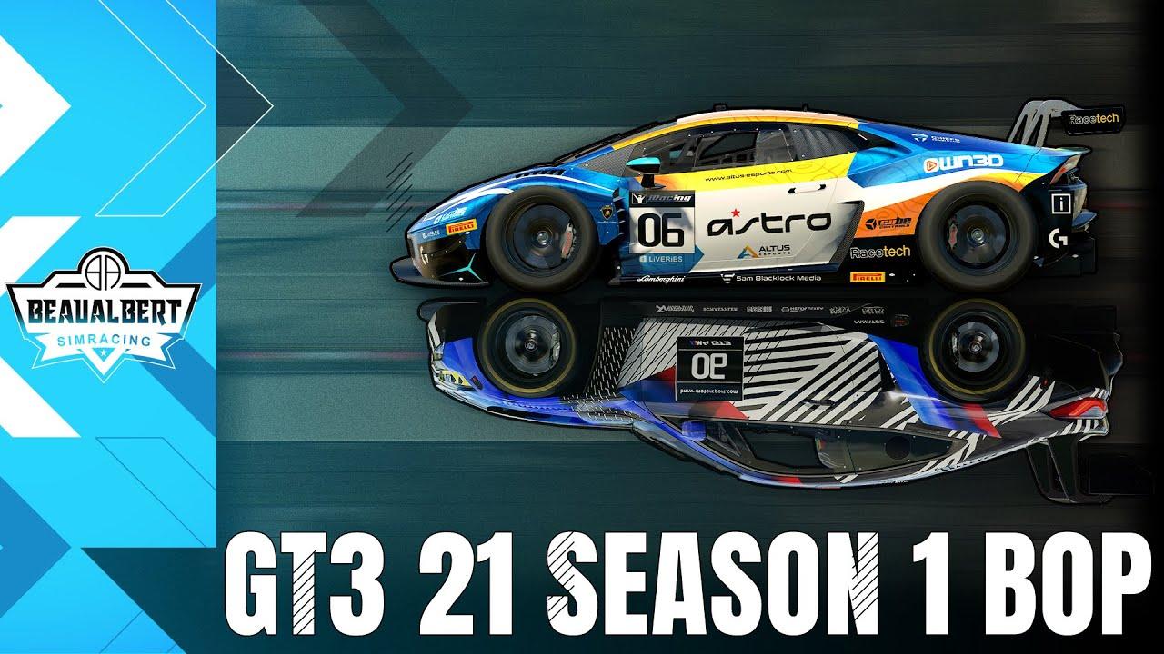 Beau Albert: Testing the 2021 Season BoP on seven iRacing GT3s!