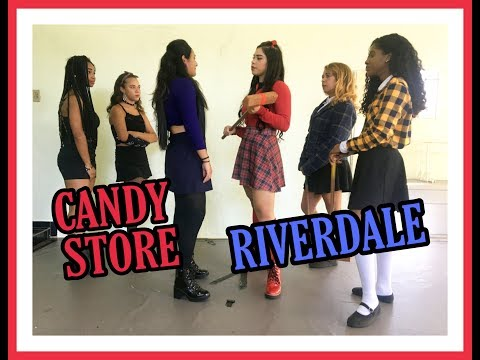 CANDY STORE | CHONI BATTLE RIVERDALE // Isla e bruna