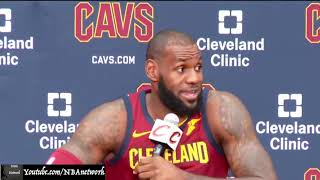Lebron James Discusses Kyrie Irving Situation! [NBA Network]