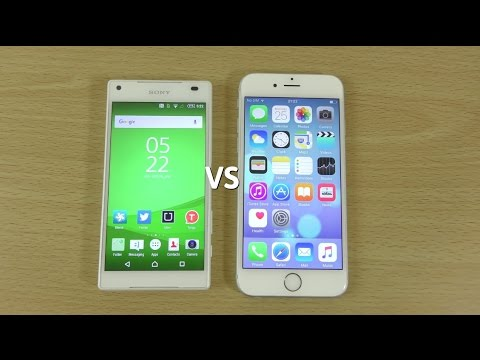Sony Xperia Z5 Compact VS iPhone 6S - Speed Comparison!